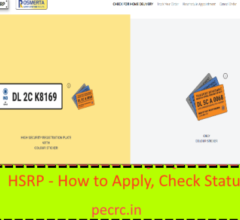 HSRP How to Apply Online